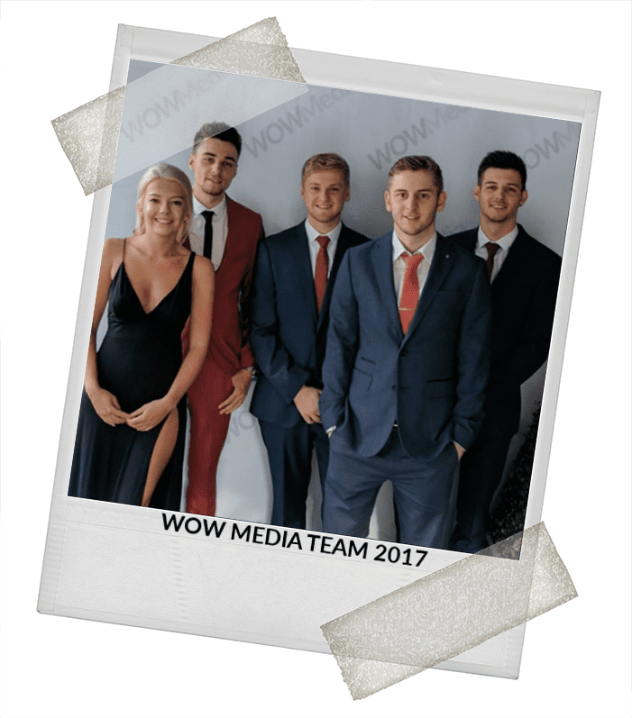 WOW Media Team Photo